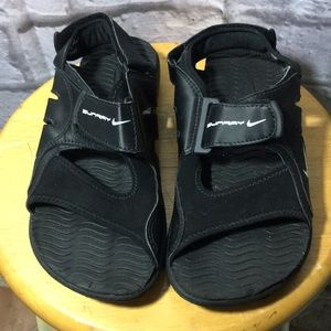 Nike Play Sunray Black Boys Sandals
